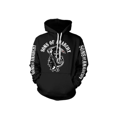 Sons of Anarchy Logo Hoodie (Black)
