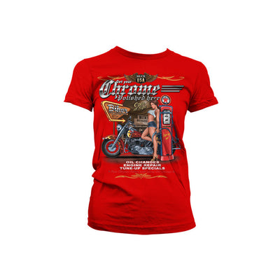 Get Your Chrome Polished Womens T-Shirt