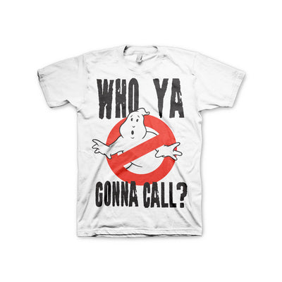 Ghostbusters Who Ya Gonna Call? 3XL, 4XL, 5XL Mens T-Shirt