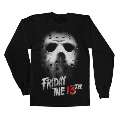 Friday The 13th Long Sleeve T-Shirt (Black)