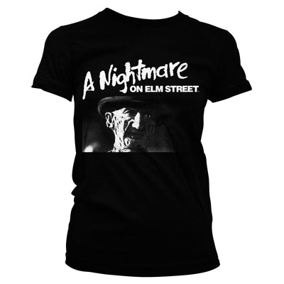 A Nightmare On Elm Street Womens T-Shirt (Black)