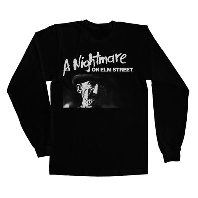 A Nightmare On Elm Street Long Sleeve T-Shirt (Black)