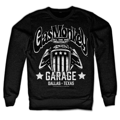 Gas Monkey Garage- American Engine Sweatshirt (Black)