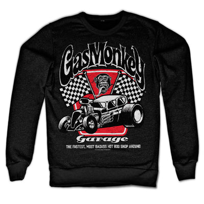 Badass Gas Monkey Garage Sweatshirt (Black)