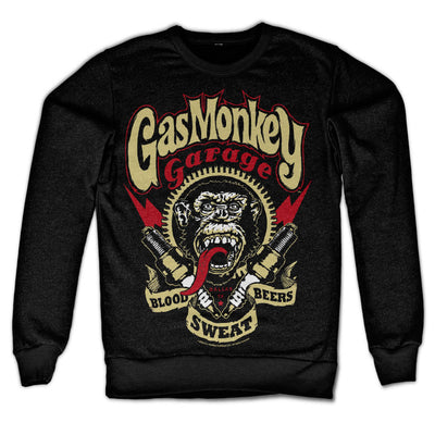 Gas Monkey Garage- Spark Plugs Sweatshirt (Black)