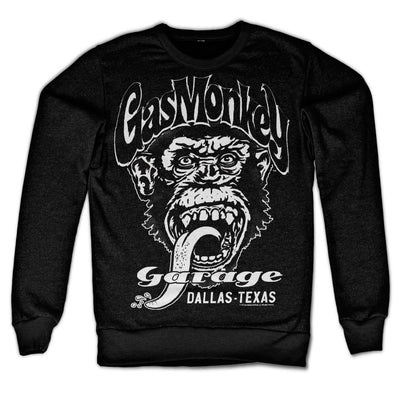 Gas Monkey Garage- Dallas  Texas Sweatshirt (Black)