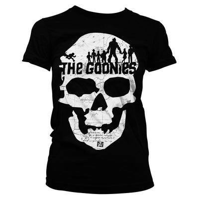 The Goonies Skull Womens T-Shirt