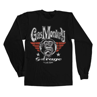 GMG- Flying High Long Sleeve T-Shirt (Black)