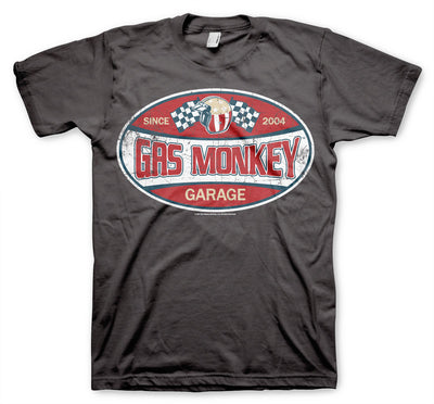Gas Monkey Garage Since 2004 Label Mens T-Shirt