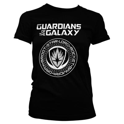 Guardians of The Galaxy Shield Womens T-Shirt
