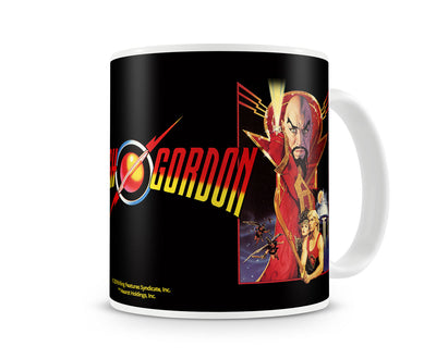 Flash Gordon Vintage Poster Coffee Mug