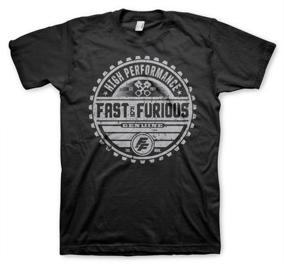 Fast & The Furious Genuine Brand Mens T-Shirt