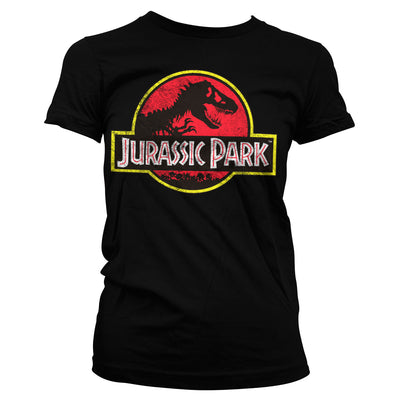 Jurassic Park Distressed Logo Women's T-Shirt