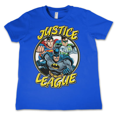 Justice League Team Unisex Kids T-Shirt