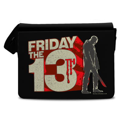 Friday The 13th Block Logo Messenger Bag