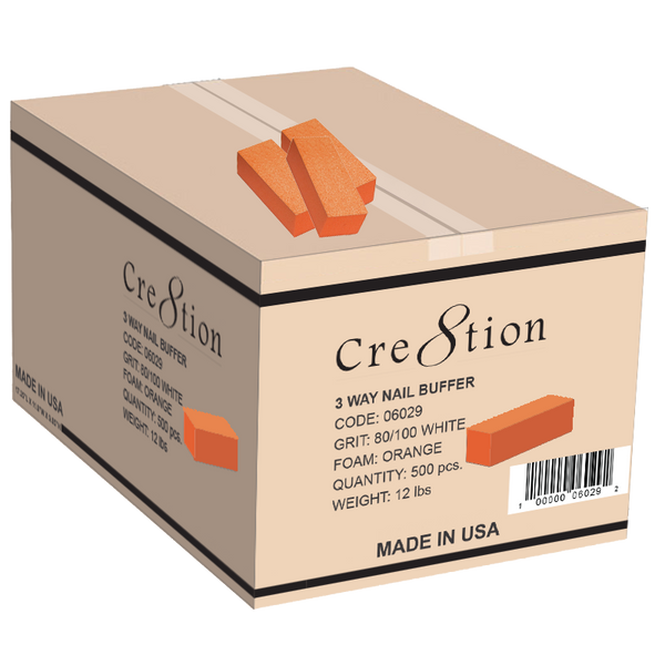 Cre8tion - 3 Way Buffers 100/180 Orange/White