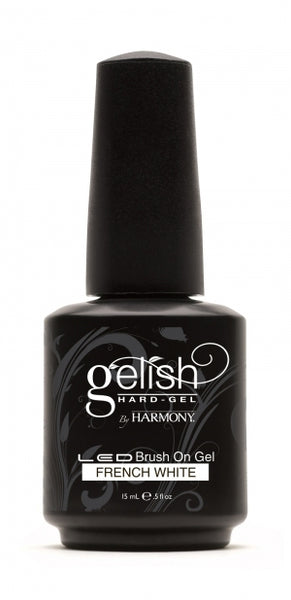 Hand & Nail Harmony - Gelish Hard Gel French White