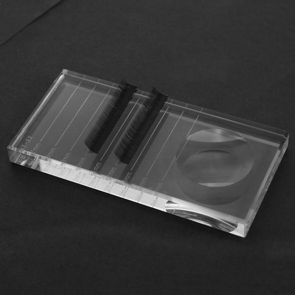 Crystal Square Plate Lash Tile