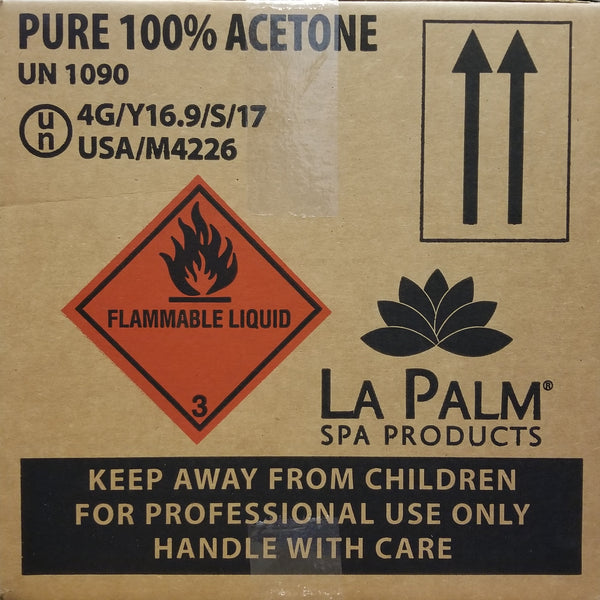 "LaPalm - 100% Acetone (IN STORE PICK UP ITEM ONLY! At checkout must deselect ""SHIP"" and select ""PICK UP"" to purchase this item)"