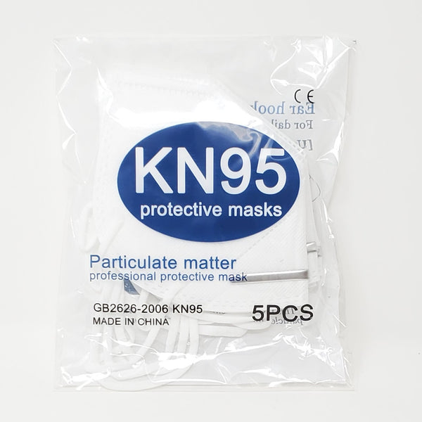 KN95 Protective Masks (5-Pack)