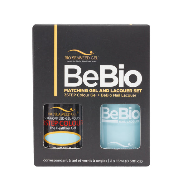 BEBIO MATCHING - 23 POWDER BLUE