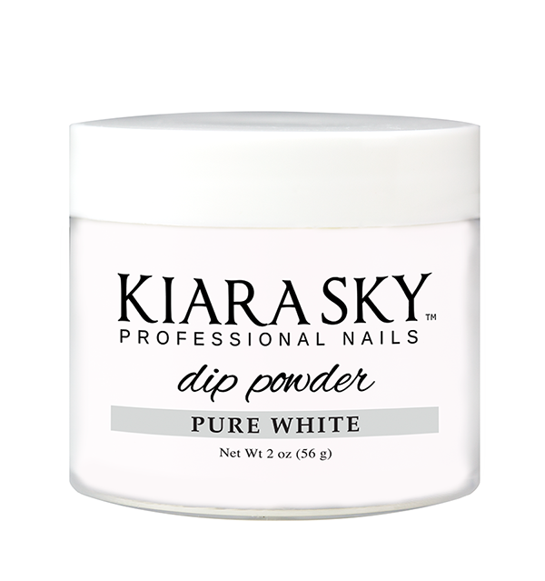 Kiara Sky 2oz DIP POWDER - PURE WHITE
