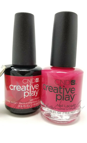 CND Creative Play Matching Gel Polish & Nail Lacquer - #411 Well Red