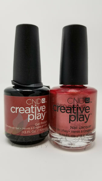 CND Creative Play Matching Gel Polish & Nail Lacquer - #417 Bronzestellation