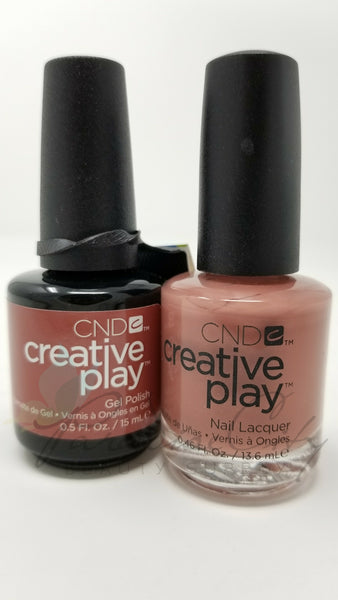 CND Creative Play Matching Gel Polish & Nail Lacquer - #418 Nuttin To Wear