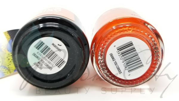 CND Creative Play Matching Gel Polish & Nail Lacquer - #421 Orange You Curious