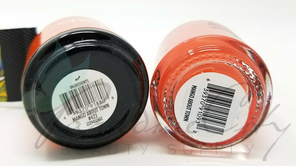 CND Creative Play Matching Gel Polish & Nail Lacquer - #422 Mango About Town