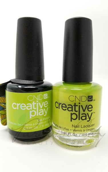 CND Creative Play Matching Gel Polish & Nail Lacquer - #427 Toe The Lime