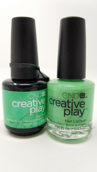 CND Creative Play Matching Gel Polish & Nail Lacquer - #428 You've Got Kale