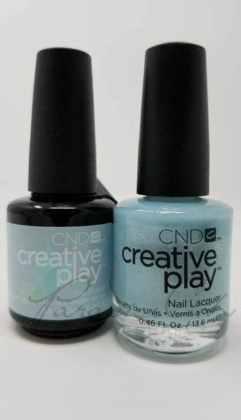 CND Creative Play Matching Gel Polish & Nail Lacquer - #436 Isle Never Let You Go
