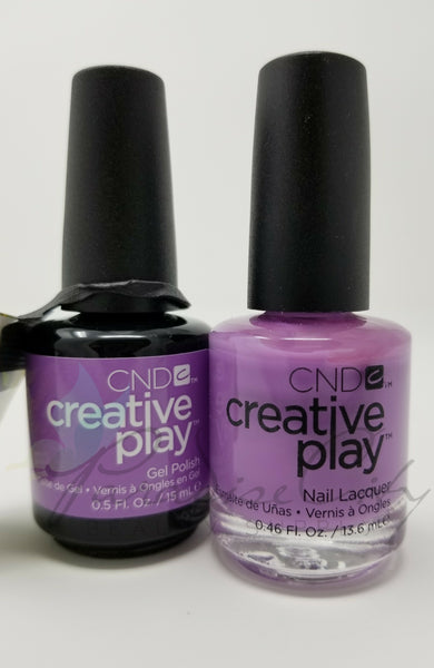 CND Creative Play Matching Gel Polish & Nail Lacquer - #443 A Lilac-Y Story