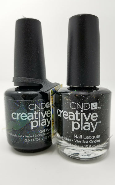 CND Creative Play Matching Gel Polish & Nail Lacquer - #450 Nocturne It Up