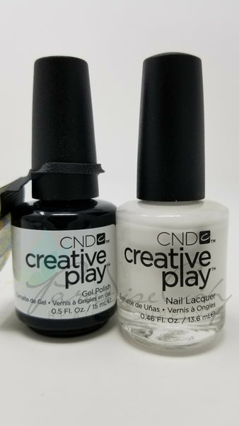 CND Creative Play Matching Gel Polish & Nail Lacquer - #452 I Blanked Out