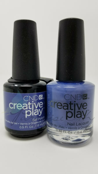 CND Creative Play Matching Gel Polish & Nail Lacquer - #454 Steel The Show