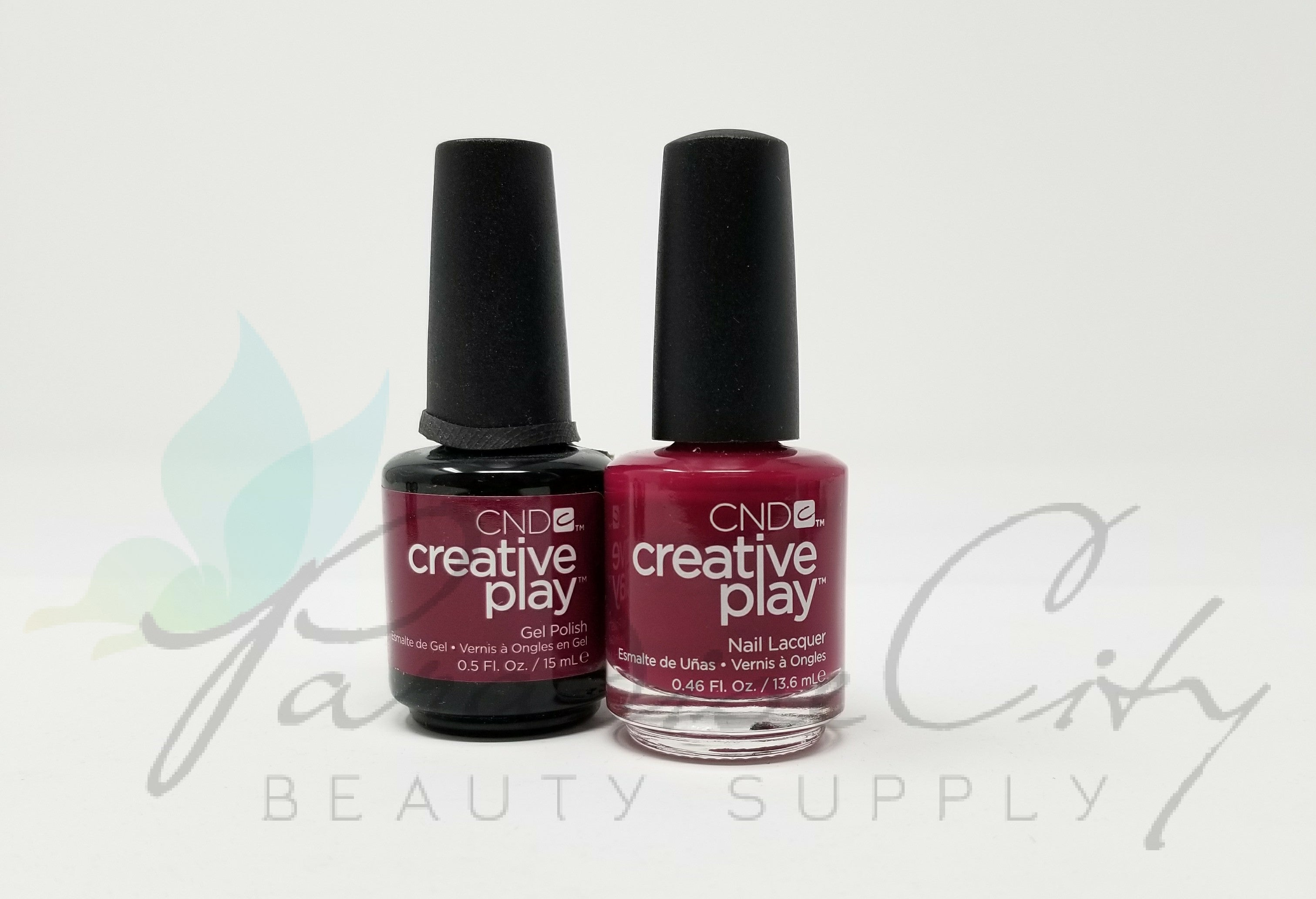 CND Creative Play Matching Gel Polish & Nail Lacquer - #460 Berry ...