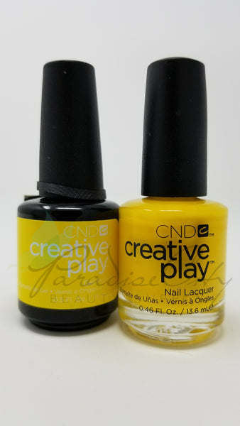 CND Creative Play Matching Gel Polish & Nail Lacquer - #462 Taxi, Please