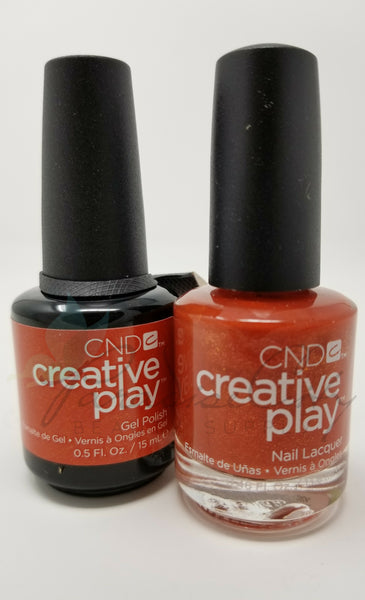 CND Creative Play Matching Gel Polish & Nail Lacquer - #463 See U In Sienna