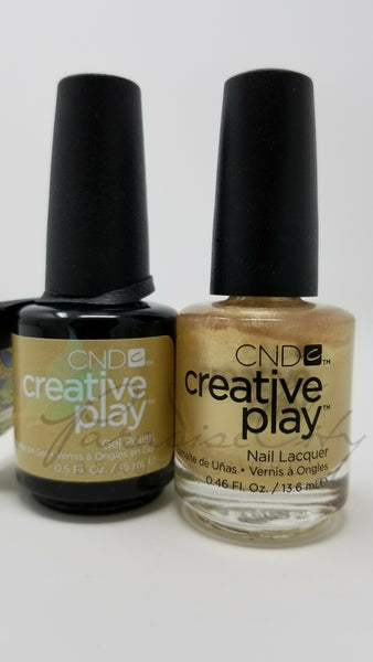 CND Creative Play Matching Gel Polish & Nail Lacquer - #464 Poppin' Bubbly
