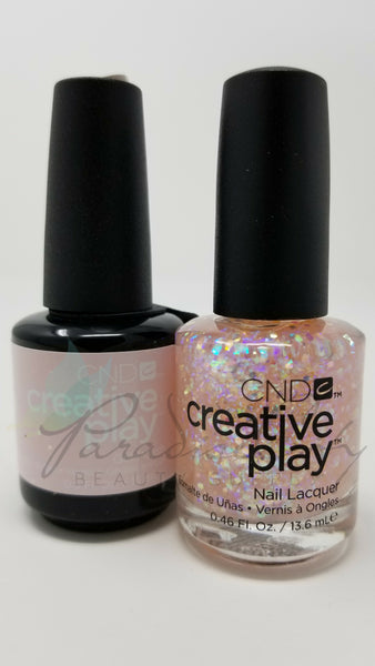 CND Creative Play Matching Gel Polish & Nail Lacquer - #466 Got A Light?