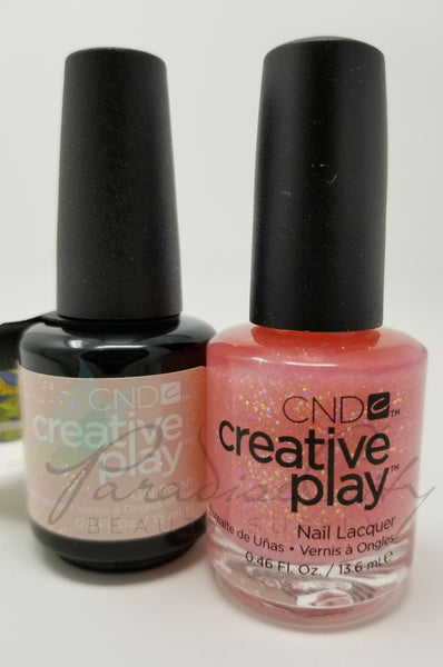 CND Creative Play Matching Gel Polish & Nail Lacquer - #471 Pinkle Twinkle