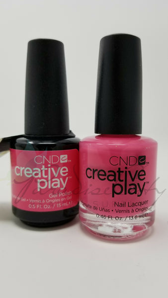 CND Creative Play Matching Gel Polish & Nail Lacquer - #472 Read My Tulips