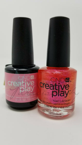 CND Creative Play Matching Gel Polish & Nail Lacquer - #473 LMAO!