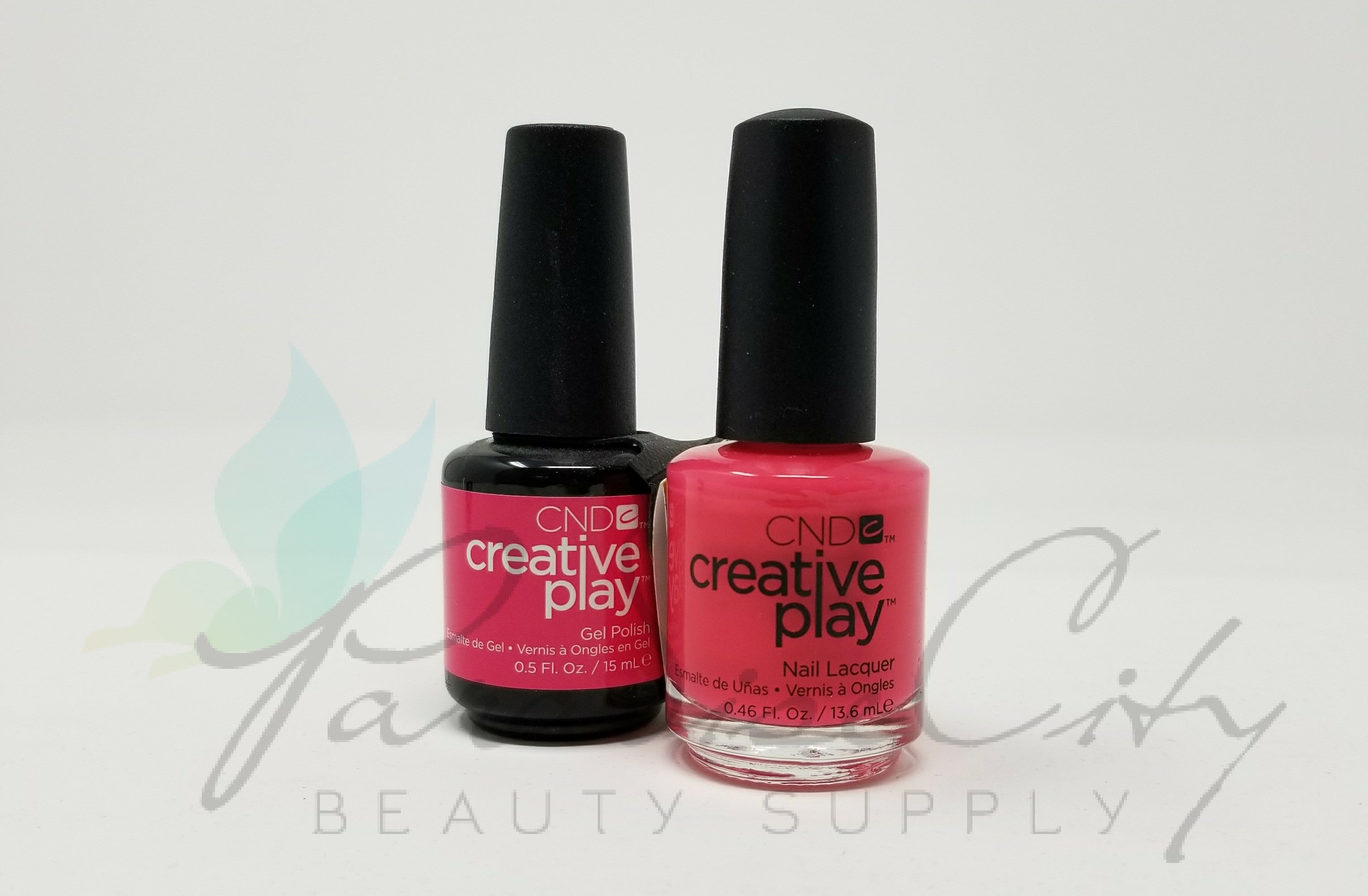 CND Creative Play Matching Gel Polish & Nail Lacquer - #474 Peony ...