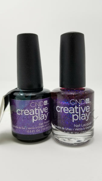 CND Creative Play Matching Gel Polish & Nail Lacquer - #475 Positively Plumsy