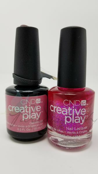 CND Creative Play Matching Gel Polish & Nail Lacquer - #479 Dazzleberry