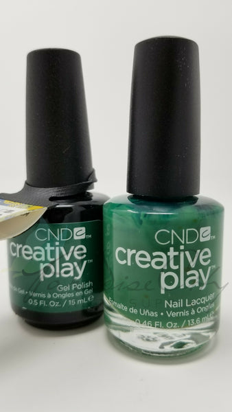 CND Creative Play Matching Gel Polish & Nail Lacquer - #485 Happy Holly Day